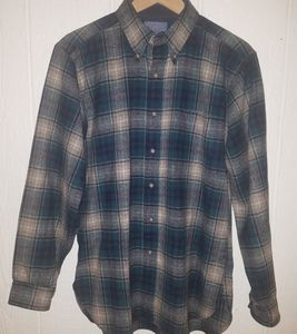 Pendleton Virgin Wool plad Shirt szM